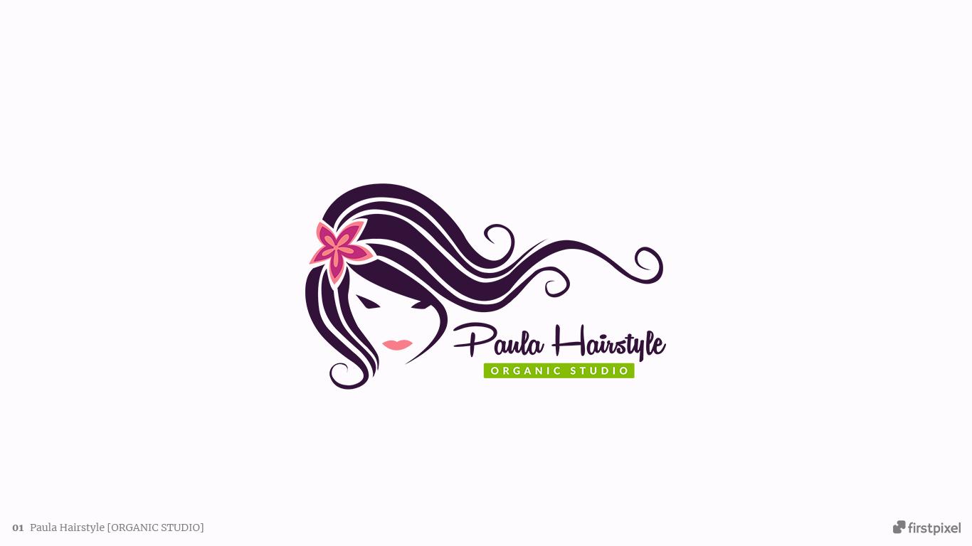 logo salon coafor paula hairstyle