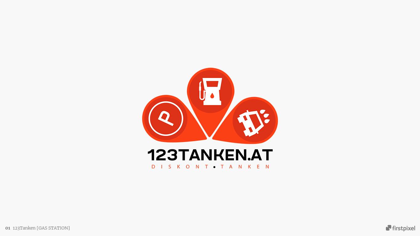 logo benzinarie 123 tanken