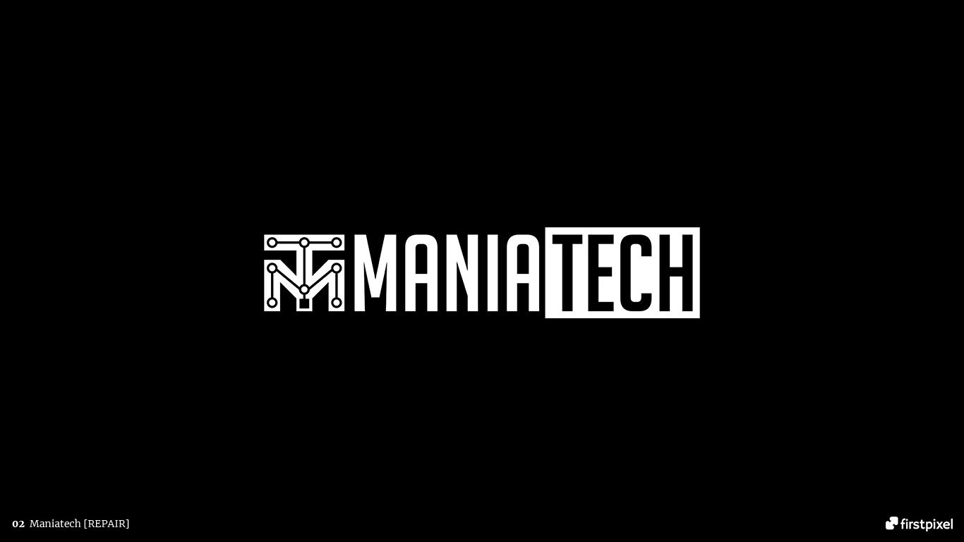 logo service reparatii telefon laptop maniatech