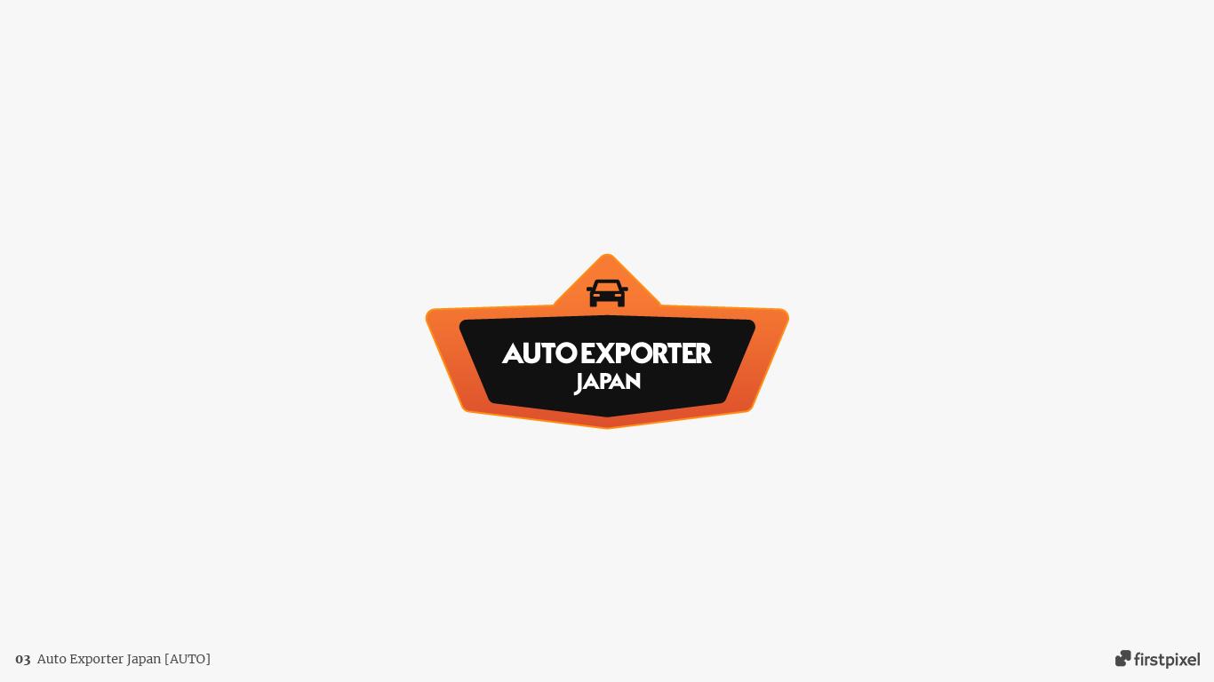 logo auto exporter japan