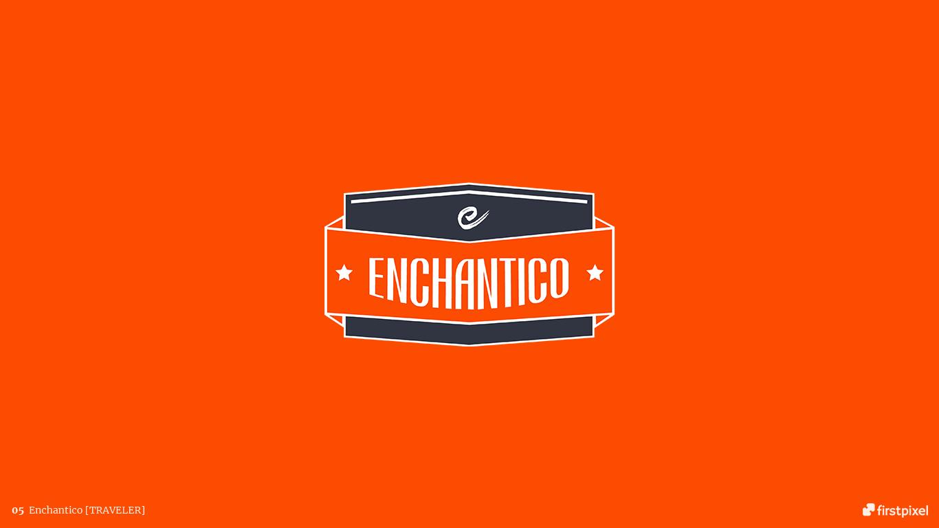 logo turism traveler echantico