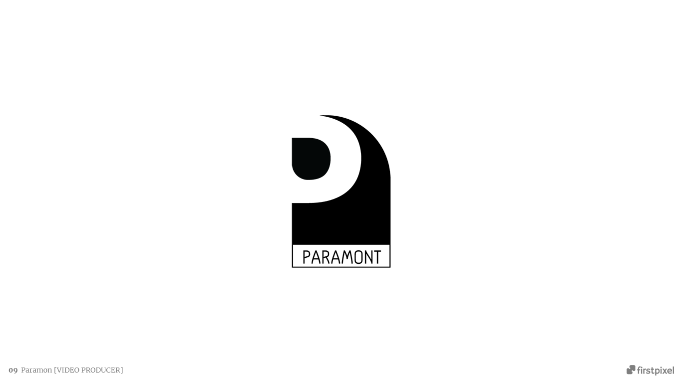 logo video editor producer paramont
