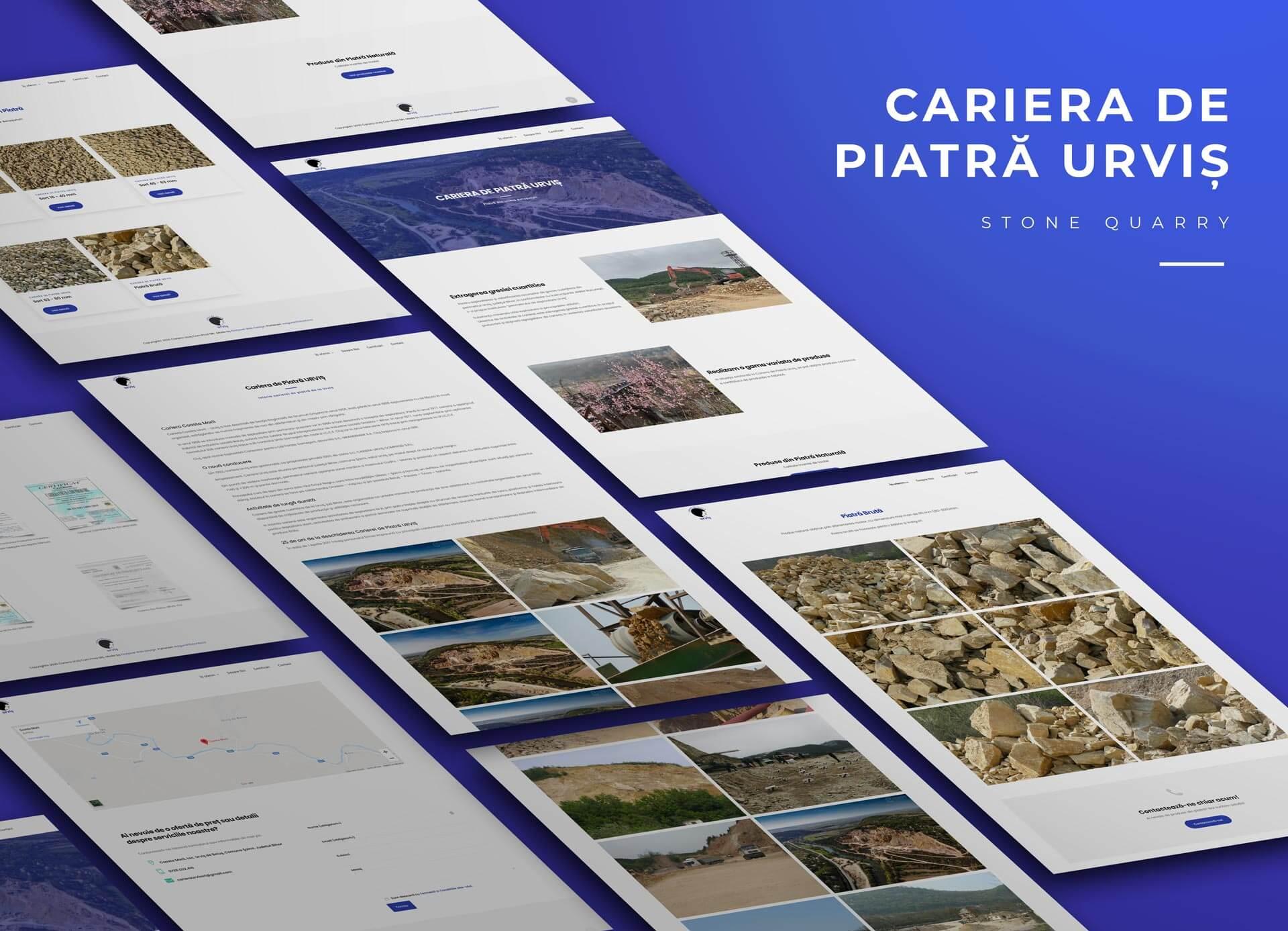 full-site-de-prezentare-cariera-de-piatra-urvis