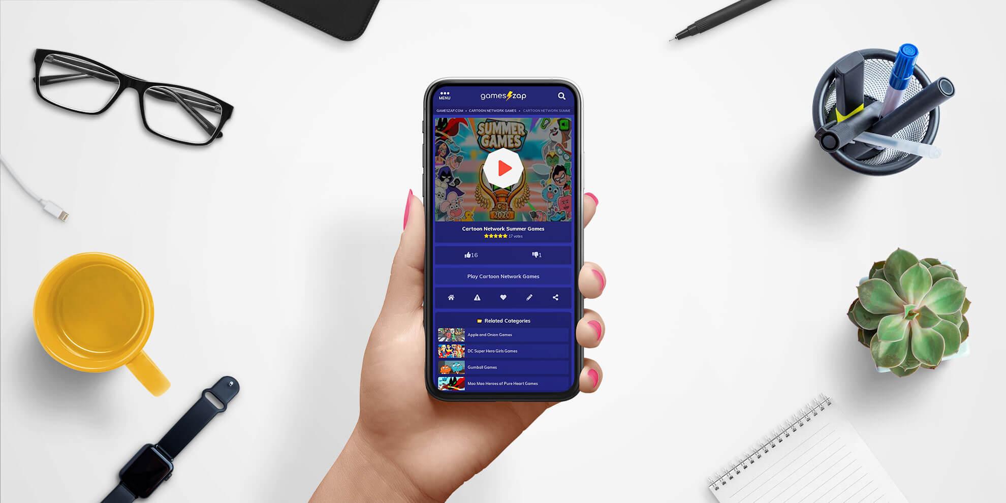 design gameszap site cu jocuri online